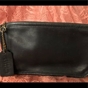 Coach Skinny case wallet in black